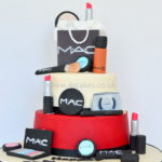 MAC make up cake by london luxary Birthday cake maker near forest hill dulwich