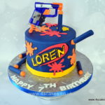 NERF cake by bromley london Birthday cake shop