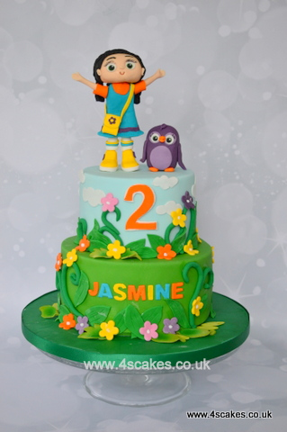 Wissper theme cake by 4scakes london wedding cake makers