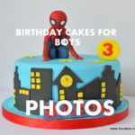 Birthday Cakes for boys by 4S cakes Bromley London luxury cake makers