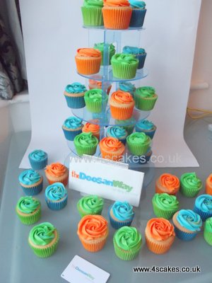 Corporate cup cakes