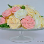 Cup Cake bouquet by 4S Cakes, Bromley Greenwich Cake makers. Mother's day gift or wedding table centrepiece