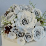 Hand made Sugar Roses by 4S Cakes Bromley Croydon based Cake shop