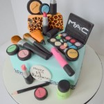 MAC Make up theme Birthday cake by 4S cakes Bromley Beckenham cake makers