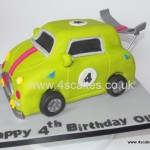 3D carved toy car Birthday cake made by 4S Cakes Bromley Beckenham Wedding Cake makers