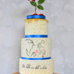 Beauty and the beast theme cake by 4scakes bromley london Wedding cake maker