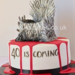 Breaking bad theme 40th Birthday cake- By 4S Cakes Bromley Wedding cake makers