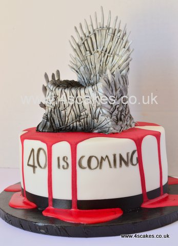 Breaking Bad Theme 40th Birthday Cake By 4S Cakes Bromley Wedding Makers