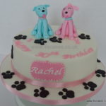 Cake for Dog walker by Bromley Beckenham cake maker