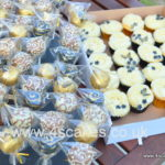Cake pops and cup cakes by london wedding cake makers