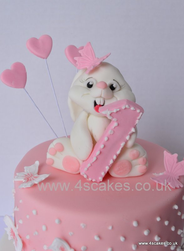 How To Make A D Rabbit Cake