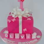 First Birthday by 4S Cakes Bromley Greenwich cake makers