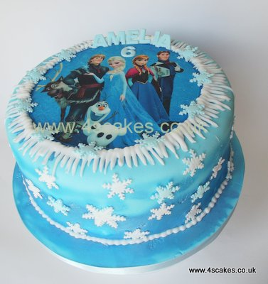 Frozen Birthday Cake Bromley Image Inspiration of Cake and