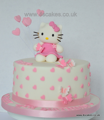Hello Kitty Cake By 4s Cakes East Dulwich Makers
