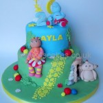 In the night garden Birthday cake by 4S Cakes Bromley Beckenham Wedding Cake makers