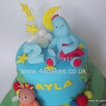 In the night garden Iggle piggle made by by 4S Cakes Bromley Beckenham Wedding Cake makers