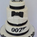James bond 007 Cake by Bromley cake makers
