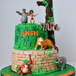 Jungle Book theme cake by 4s cakes ,Bromley Greenwich based cake makers