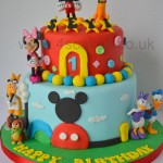 Mickey Mouse Birthday cake made by 4S Cakes Bromley Wedding cake maker