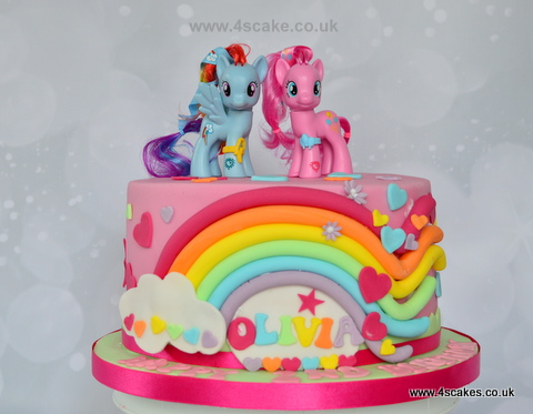 My Little Pony Cake By London Based Birthday Makers