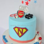 Super dad cake by london cake maker