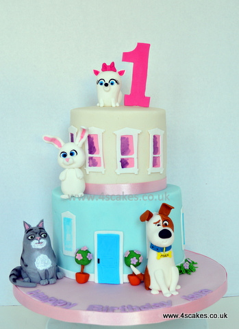 The secret lif of pets first birthdaycake by london cake maker near forest hill dulwich sydenham