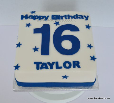 boys 16th birthday cake 9 best birthday cakes images on baking