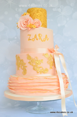 Luxury Birthday Cake Wedding cake in london